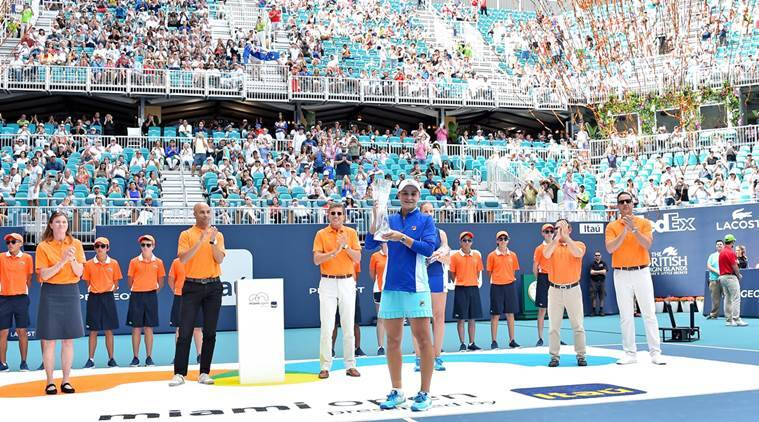 Roger Federer, Kevin Anderson Play Tennis From Close Range In Miami