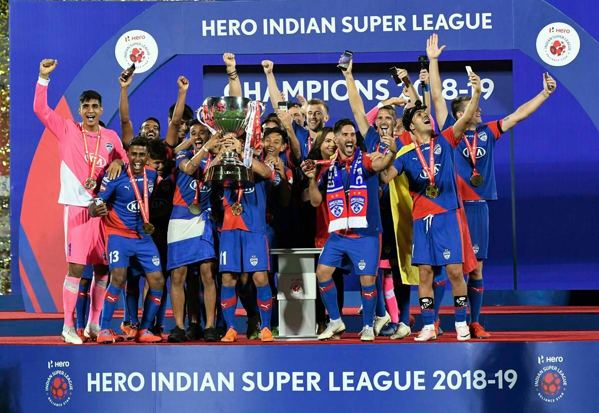 Image result for bengaluru fc win isl