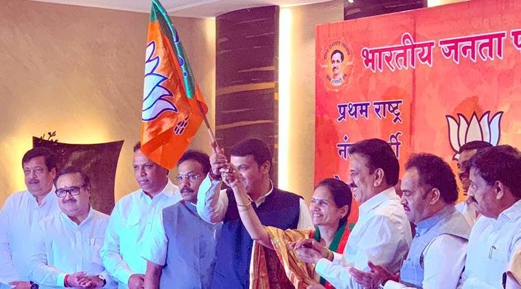 bjp list of candidates, bjp maharashtra list, indian express, maharashtra list of candidates, lok sabha elections, lok sabha polls, lok sabha elections 2019, indian express