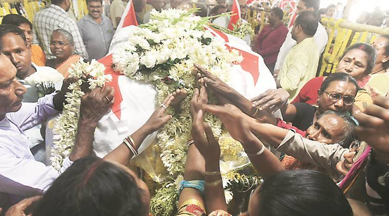 Boro Maa's body taken to Thakurnagar