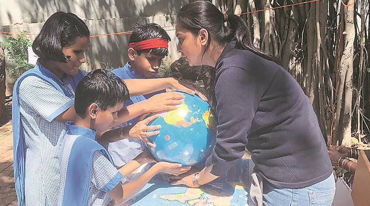 3d venus, blind students, venus for blind students, visually impaired students, visually challenged students, indian express