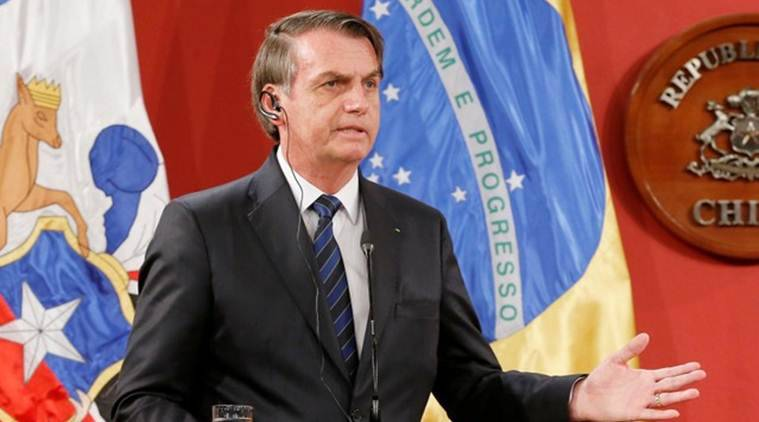 brazilian president security arrested, Jair Bolsonaro, Bolsonaro security arrested over cocaine, cocaine found in brazilian officer's luggage, g-20 summit, spain news, brazil news, world news, indian express