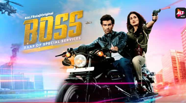 Karan Singh Grover Sagarika Ghatge ALTBalaji web show Boss