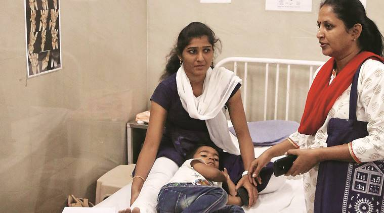 """Gaurav, Kayangudi's son, said that his father had suffered fractures but was conscious when he was taken to hospital. """"He had breathing problems when he was being taken for an X-ray,"""" Gaurav said."""
