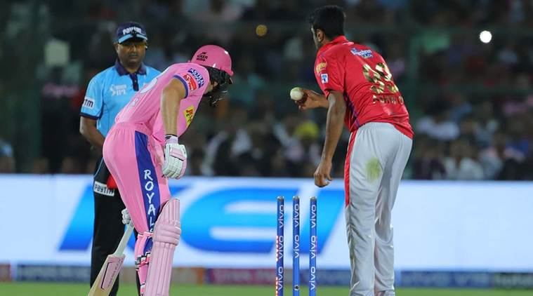 Jos Buttler was run out by R Ashwin in a controversial manner. (Source: IPL)