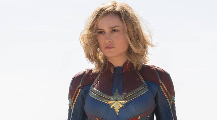 captain marvel brie larson box office