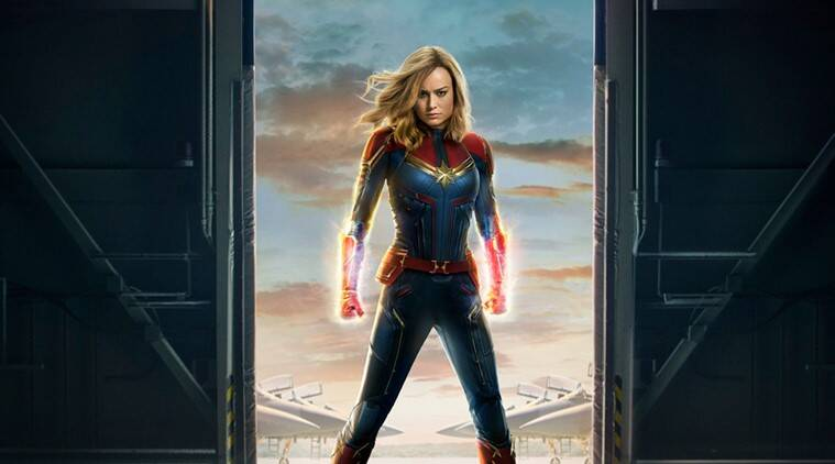 Captain Marvel rockets to historic 455 million dollars debut at the worldwide box office