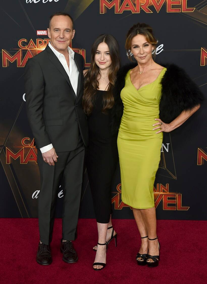 captain marvel world premiere clark gregg