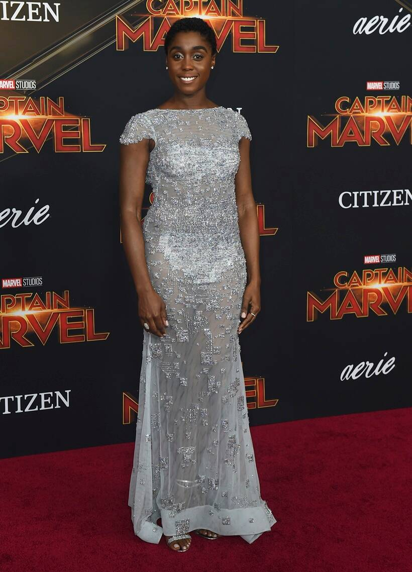 captain marvel world premiere lashana lynch