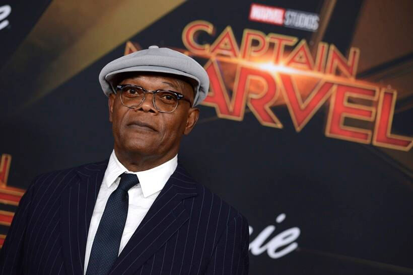 captain marvel world premiere samuel l jackson