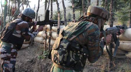 Pakistan army shells forward posts along LoC in Poonch, Rajouri