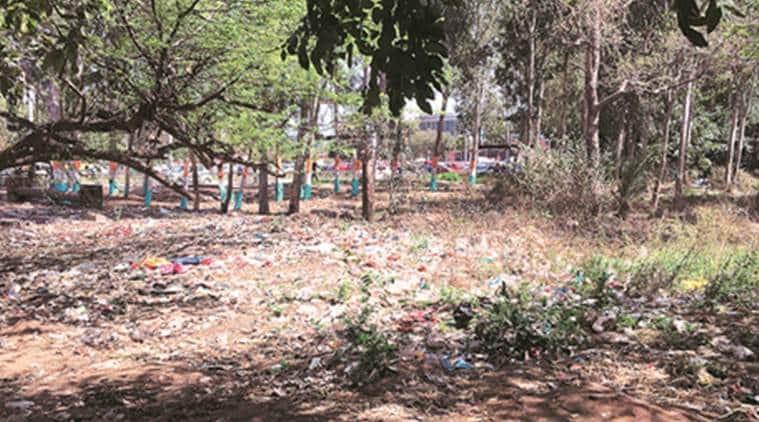 chandigarh, railway station, chandigarh railway station, daria village, garbage, garbage dumping sites, indian express news