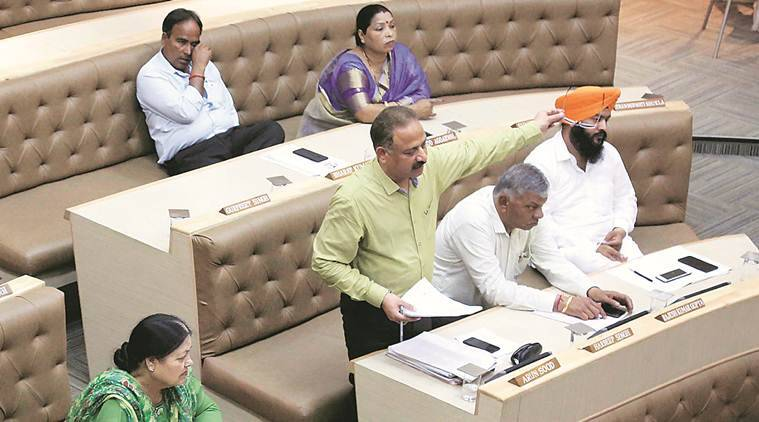 Swachh Survekshan: A clean contest between BJP and BJP in Chandigarh House