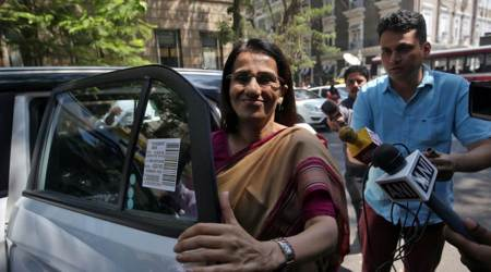 ICICI Bank Chanda Kochhar appears before ED