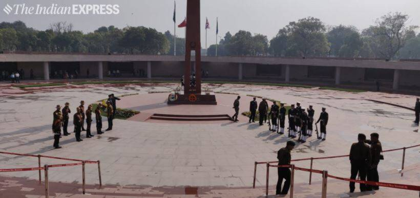 National War Memorial hosts its first change of guard ceremony