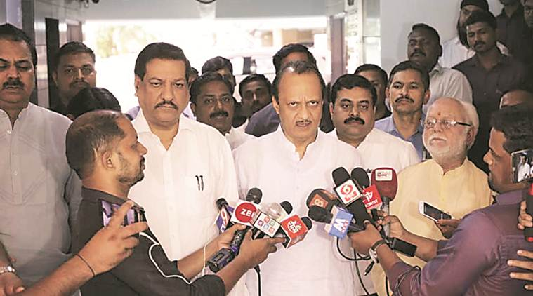 To ensure local leaders get along and campaign together, Chavan and Pawar hold joint meeting