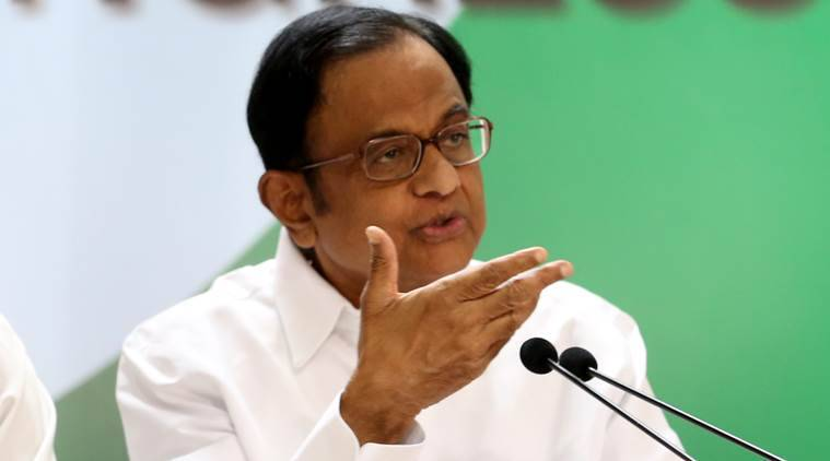 chidambaram remark on kashmir, chidambaram on article 370, jammu and kashmir, article 370