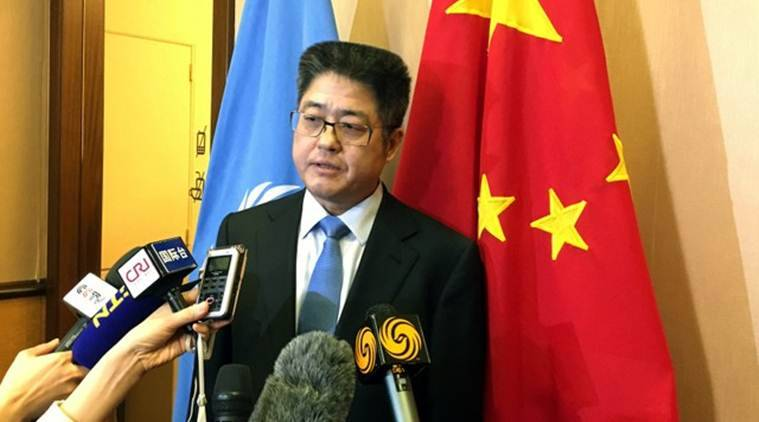 Chinese envoy calls Muslim detention centres 'campuses'