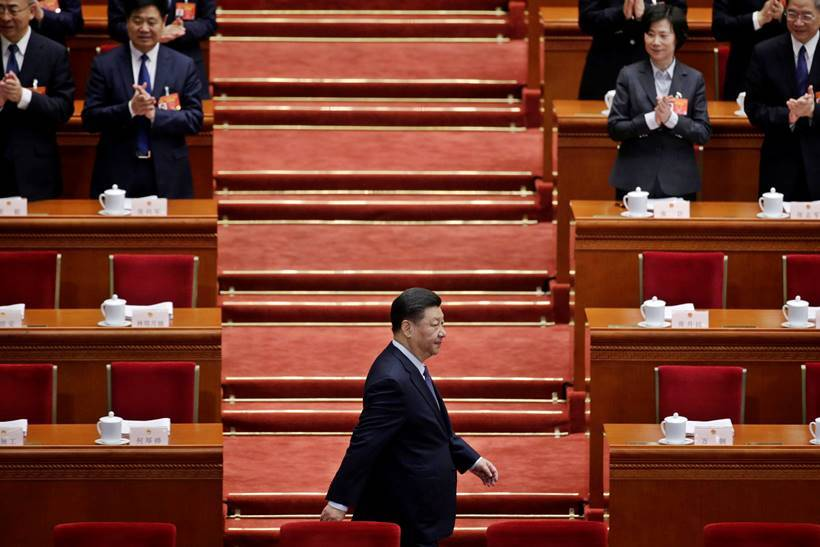 Quirky moments from China's annual Congress