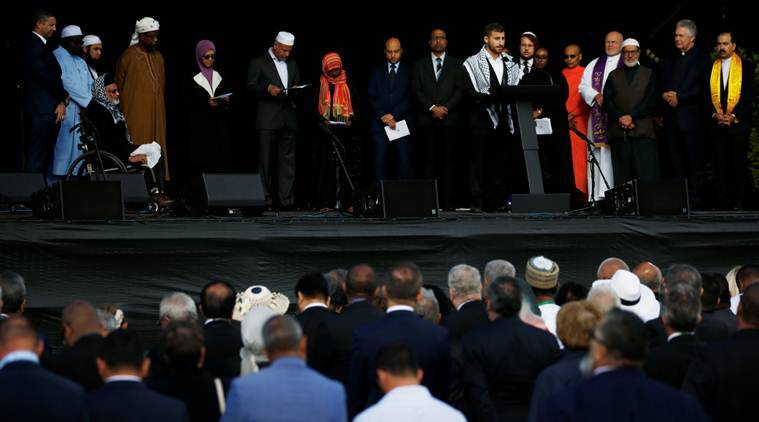 Christchurch mosque shooting: Victims' names read out to silent crowd at New Zealand memorial