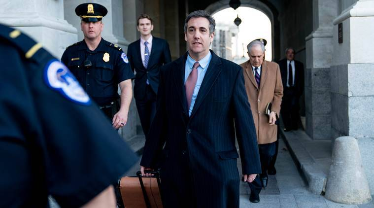 Cohen sues Trump organisation, saying he was denied .9 million in legal fees