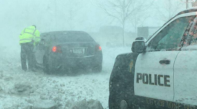 Winter Storm Brings Heavy Snow and High Winds Across Central US