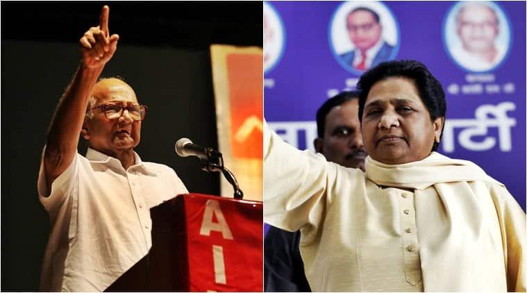 ncp chief sharad pawar, mayawati, nda, shiv sena, lok sabha elections 2019, priyanka gandhi vadra, bjp, election news, indian express