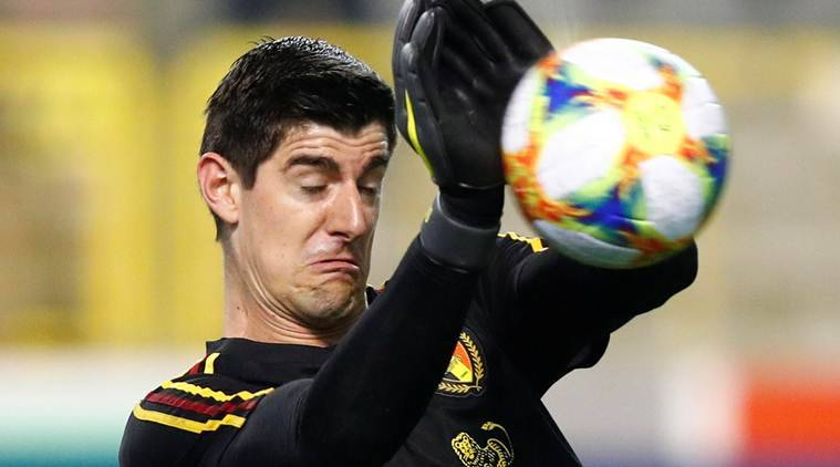 Spanish press want to 'kill me', claims Courtois