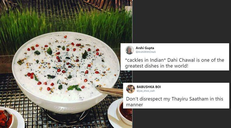 curd rice, dahi chawal, yoghurt and rice combo, simple comfort food, food debate twitter, curd rice debate twitter, indian express, viral news, funny news