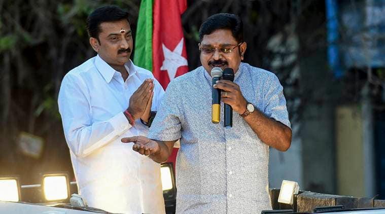 DMK, Tamil Nadu, TTV Dhinakaran, AIADMK, Tamil Nadu elections, MK Stalin, Lok Sabha elections, election news, Indian Express news