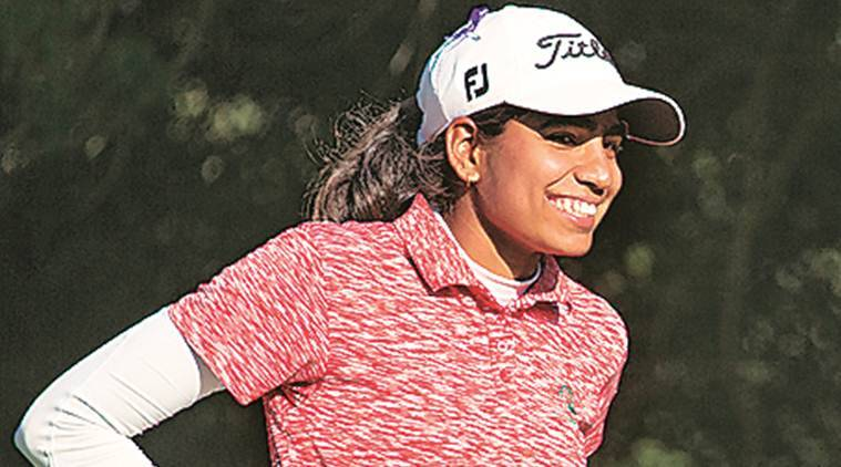 Golf, Diksha Dagar, Diksha Dagar golf, golf news, Aditi Ashok, Diksha Dagar Ladies European Tour, Ladies European Tour, sports news, indian express