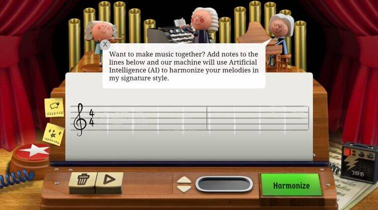 Google Celebrates Bach's Birthday With Its First AI-Powered Doodle