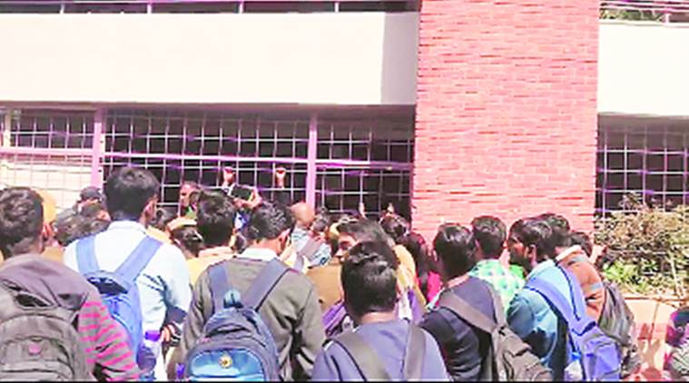 After mass failure, students say re-evaluate for free