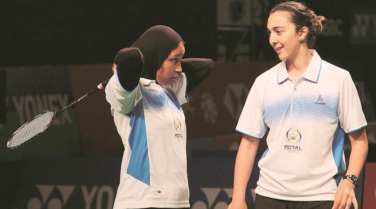 India open, yonex-sunrise india open, india open news, Doha Hany, Hadia Hosny India open, badminton news, sports news, indian express