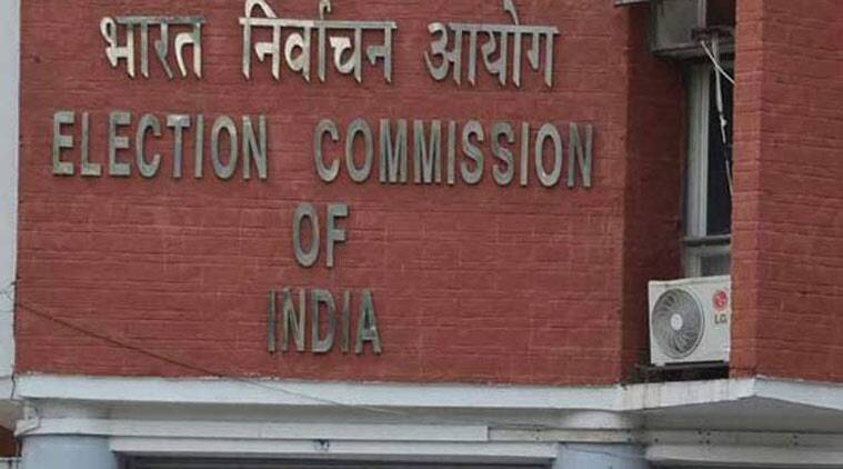 lok sabha elections, lok sabha elections 2019, lok sabha polls, election commission, ec, ec bans publication of ads, polling, polling day, ads, advertisements, political advertisements, bihar polls, indian express news