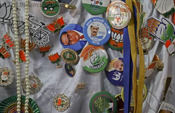 Rainbow of colours in Lok Sabha election campaign