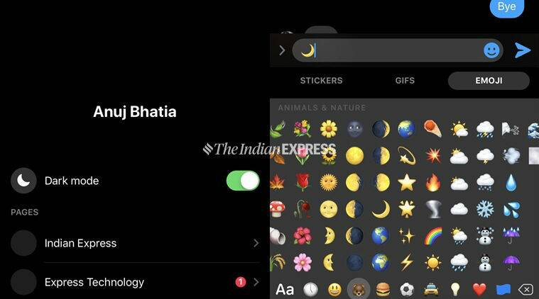 Facebook unrolls 'dark mode' for Messenger app