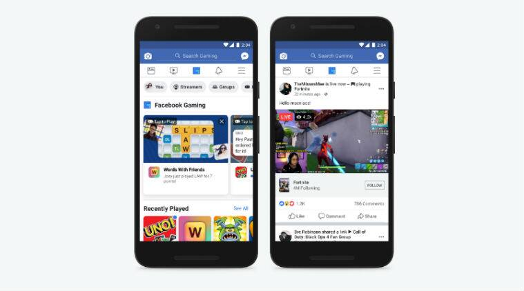 Facebook rolls out dedicated Gaming tab for mobile app