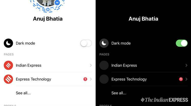 Facebook Messenger has a dark mode: Here's how to activate