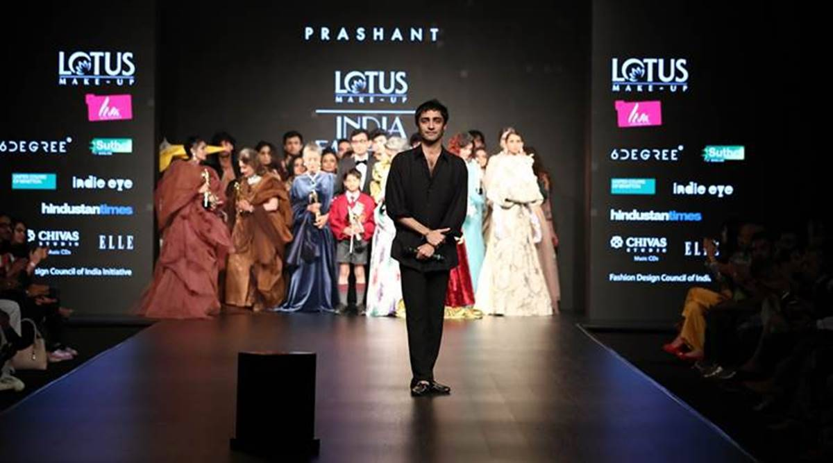 Lotus Make Up India Fashion Week 2019 Day 2 Designers Play With Shades Of White Black And Ivory Lifestyle News The Indian Express