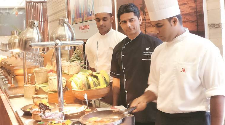 sri lanka, lakshita madushan, hiren madushanka, chef, sea food, sinhalese, culinary culture, jaffna chicken curry, chandigarh, sri lankan serenade, cuisine, british, dutch, portugese, indian express news