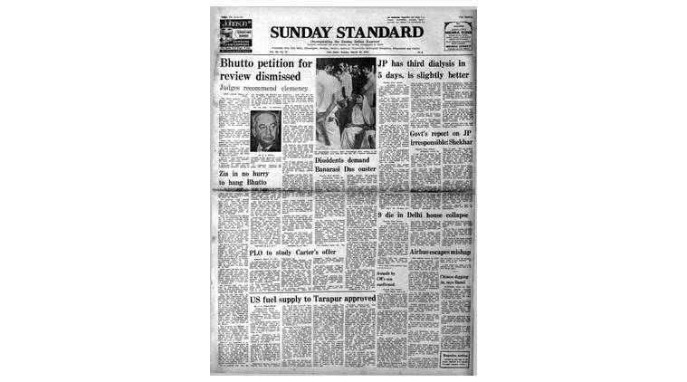 March 25, 1979, Forty Years Ago: Bhutto Sentence