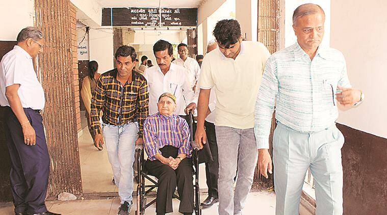 Mahatma Gandhi's wheelchair-bound relative summoned by Surat official to second-floor office