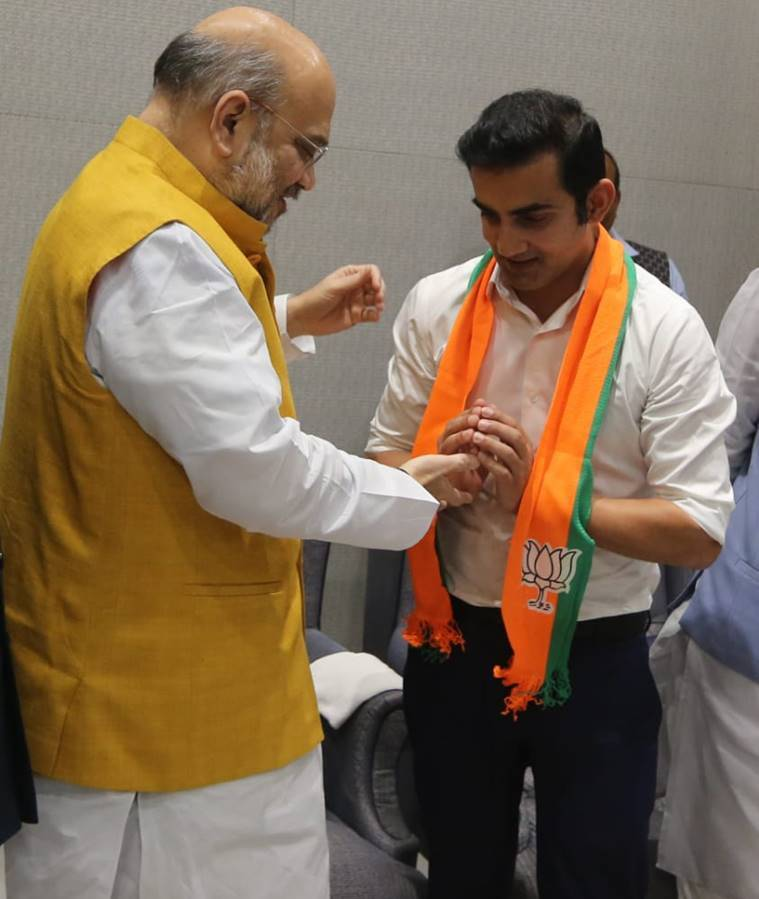 former cricketer Gautam Gambhir joins BJP, says PM Modi is his inspiration