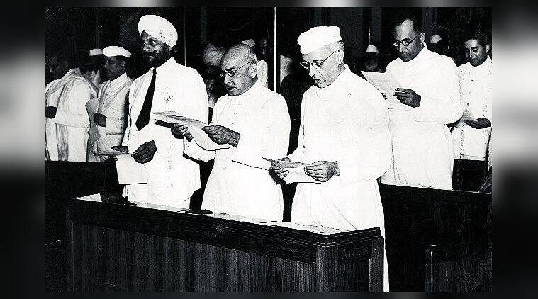 Jawaharlal Nehru, Constituent Assembly, India, book, book review