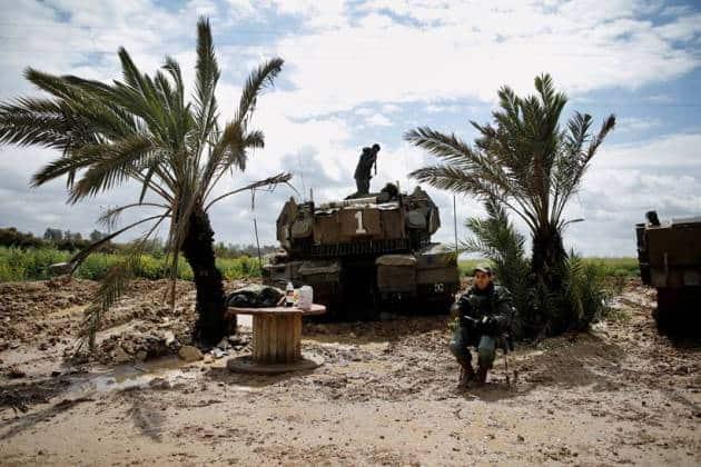 Israel strikes Gaza after rockets hit Tel Aviv