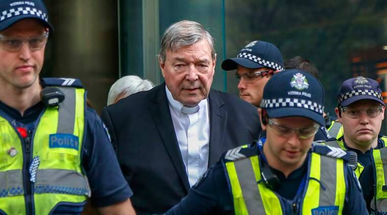 Former Vatican treasurer Cardinal George Pell jailed for 6 years for sexually abusing choir boys