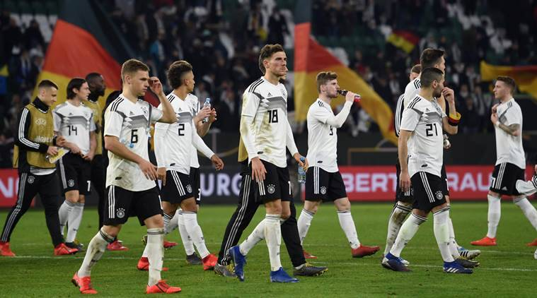 Leroy Sane escapes serious injury in Germany clash against Serbia