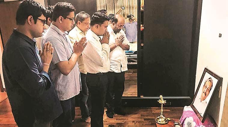 Goa floor test, Goa CM, Goa new chief minister, Goa politics, Manohar parrikar dead, Parrikar dead news, New goa government, New Goa CM, Indian Express