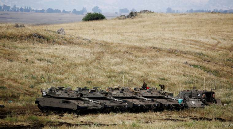 Israel says Trump to recognise Golan as its territory on Monday